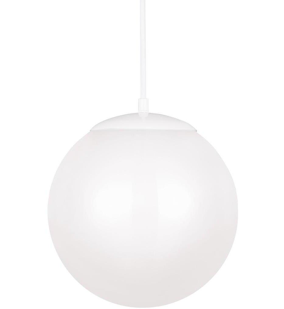 "Leo - Hanging Globe 12"" Pendant"