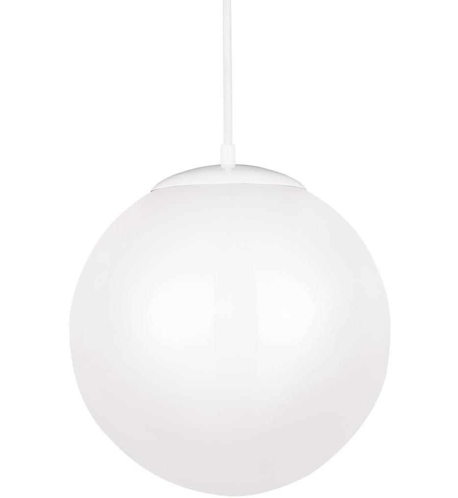 "Leo - Hanging Globe 14"" Pendant"