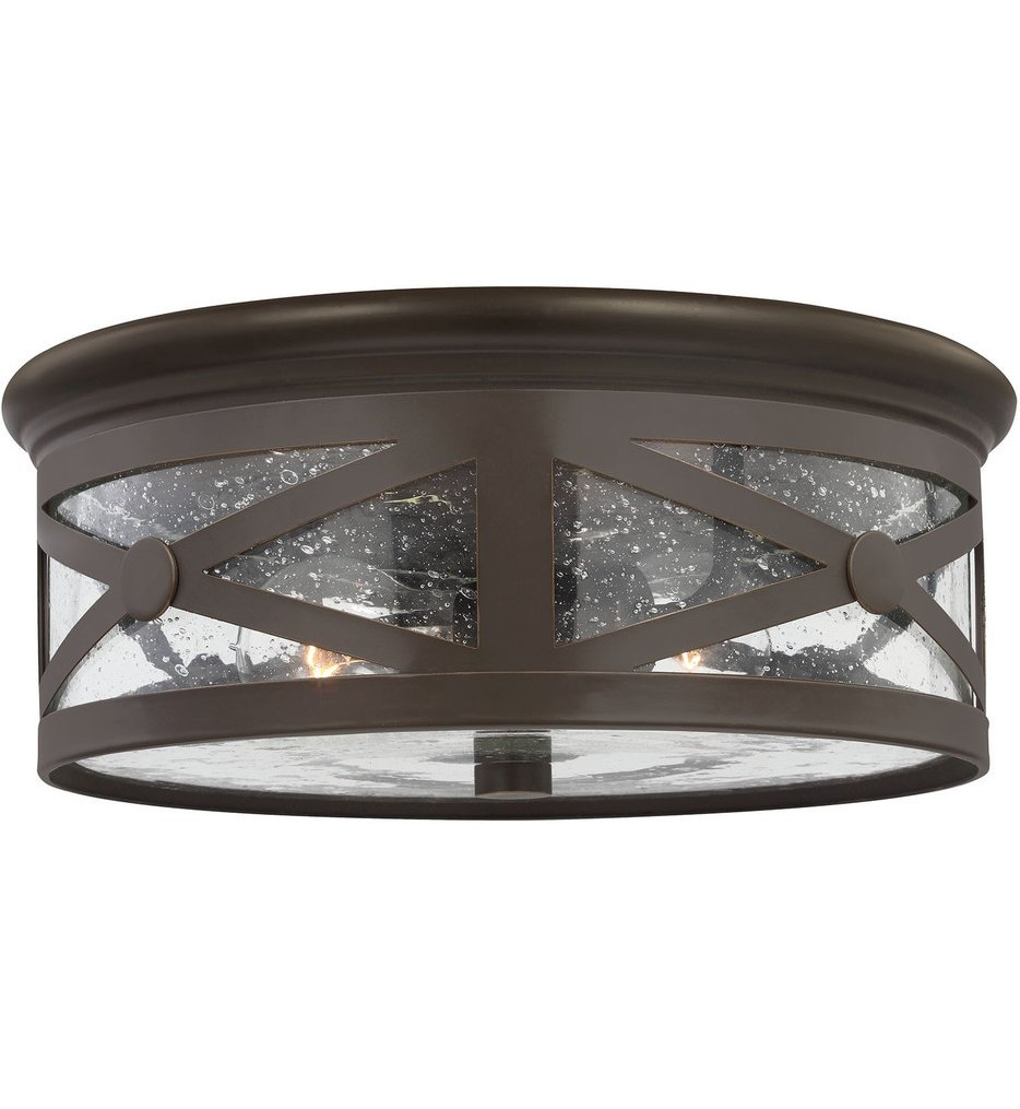 """Lakeview 13"""" Outdoor Flush Mount"""