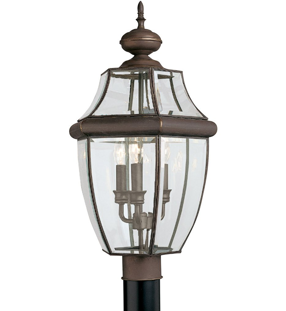 Lancaster 3 Light Outdoor Post Lantern