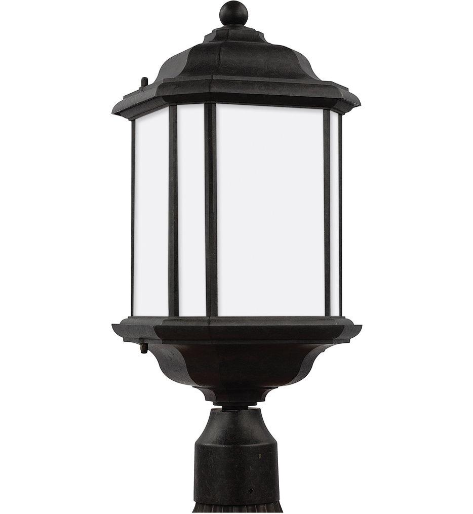 Kent 1 Light Outdoor Post Lantern