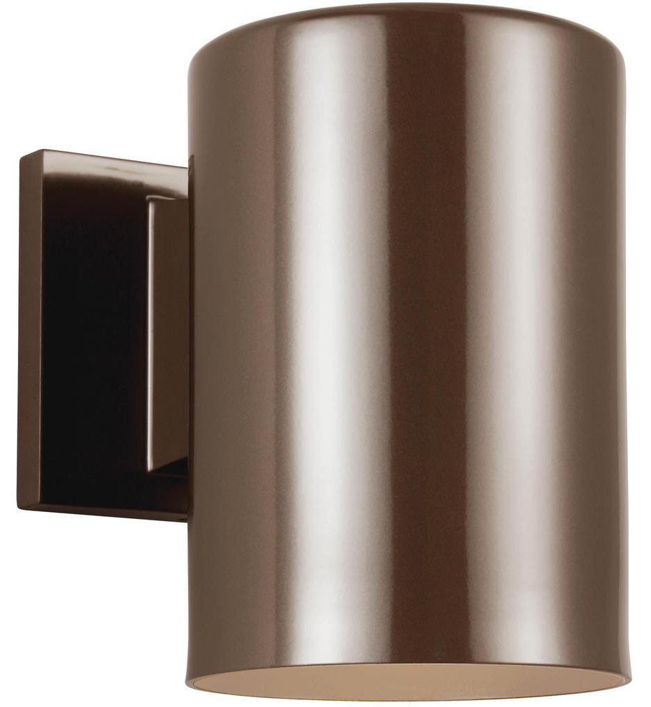 "Outdoor Cylinders 7.25"" Outdoor Wall Sconce"