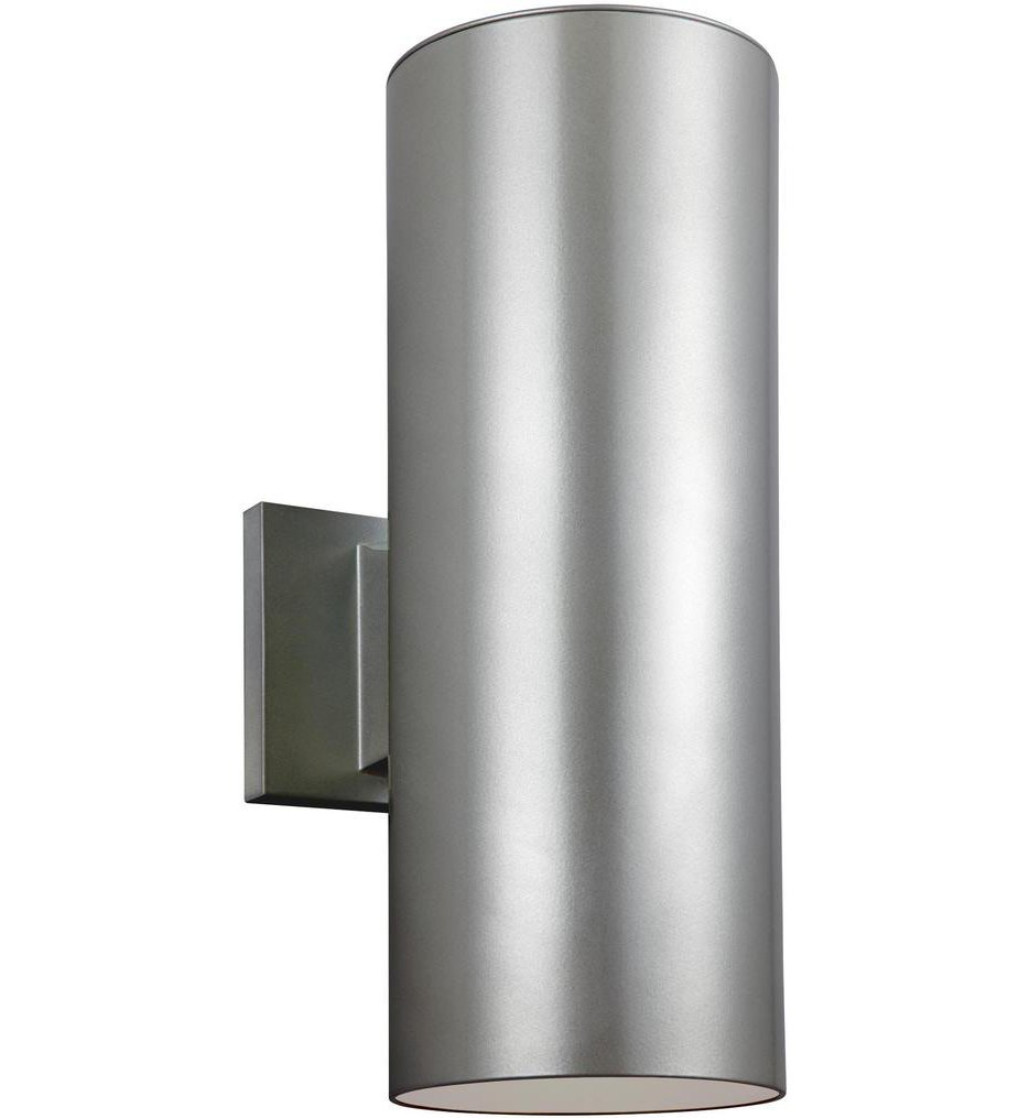 """Outdoor Cylinders 14.25"""" Outdoor Wall Sconce"""