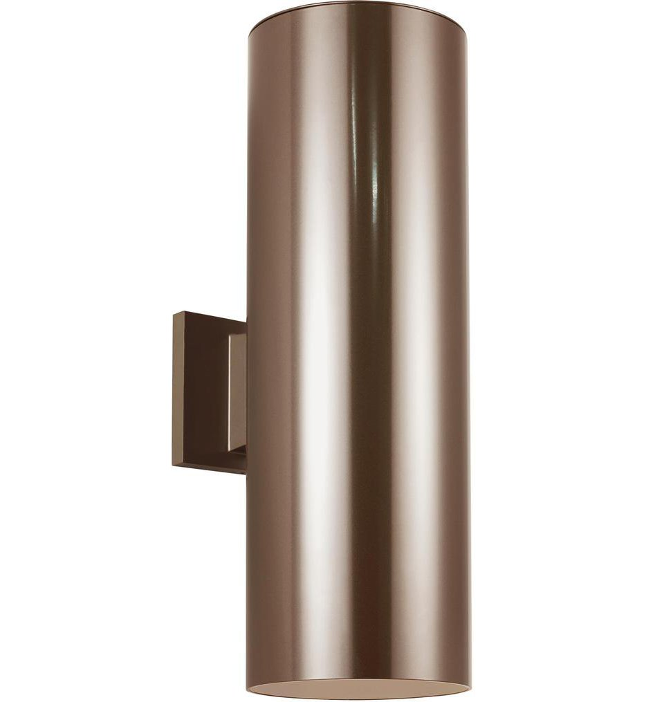 """Outdoor Cylinders 18.25"""" Outdoor Wall Sconce"""
