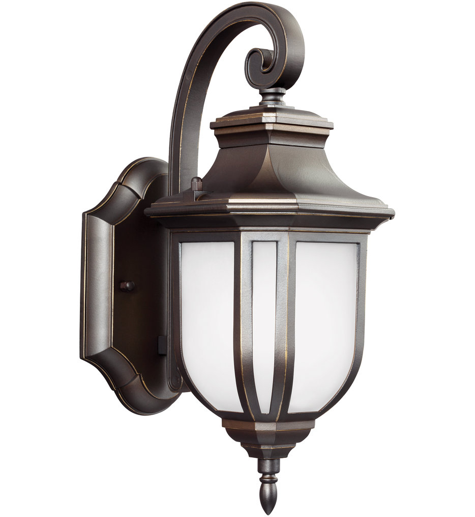 """Childress 12.63"""" Outdoor Wall Sconce"""