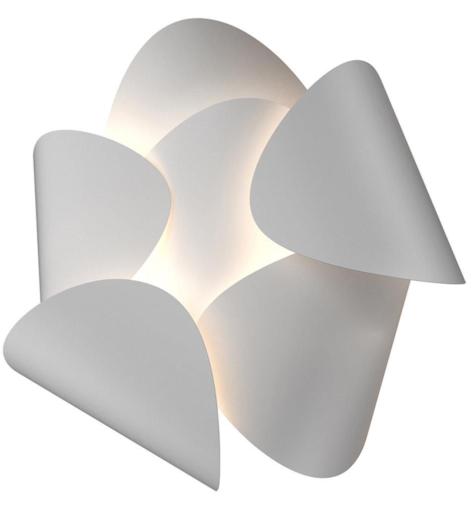 """Lotus 12.5"""" Wall Sconce"""