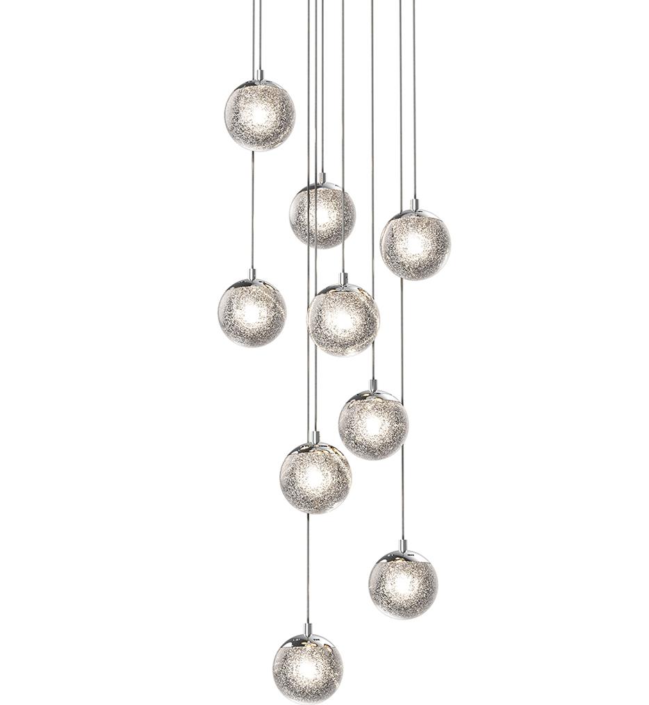 """Champagne Bubbles 14"""" Pendant"""