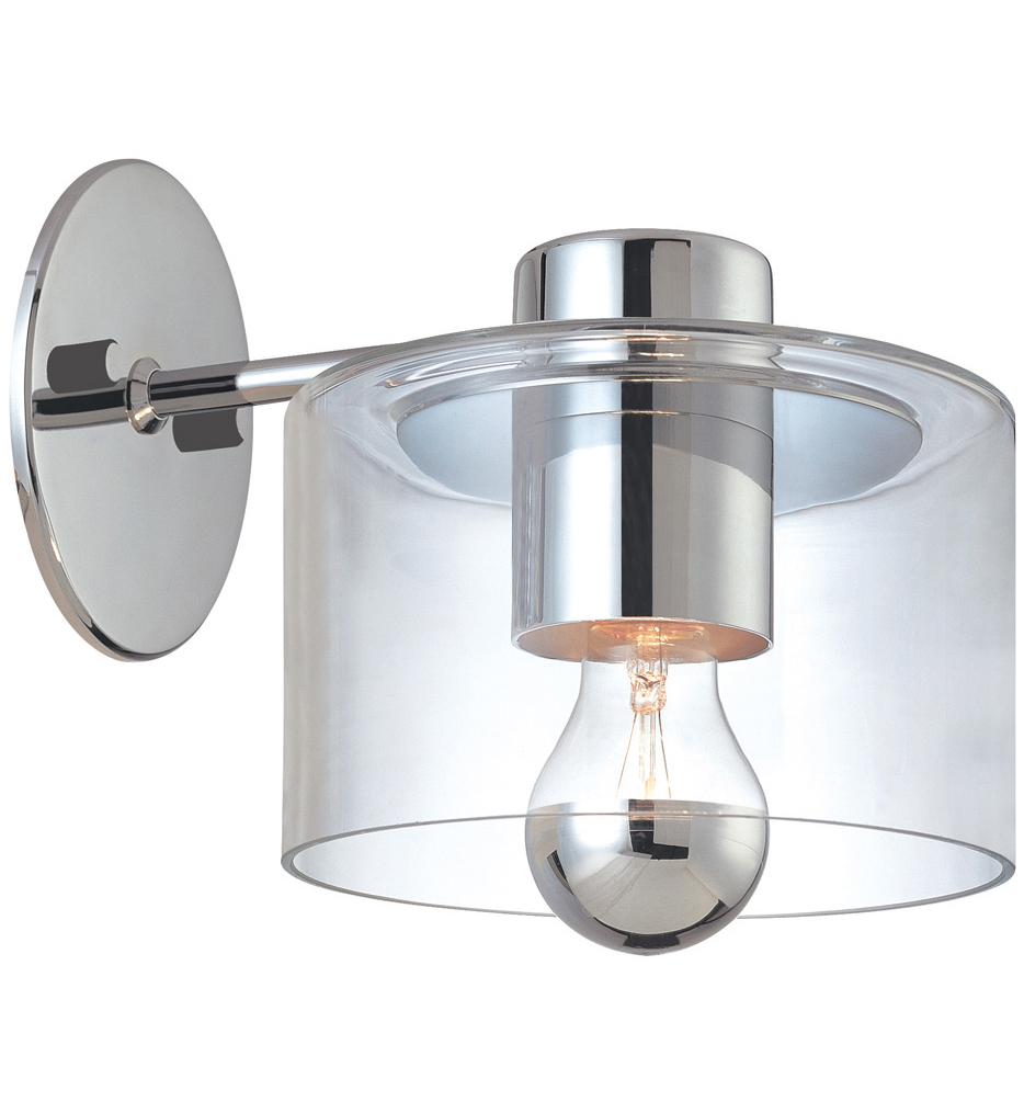 """Transparence 8"""" Wall Sconce"""