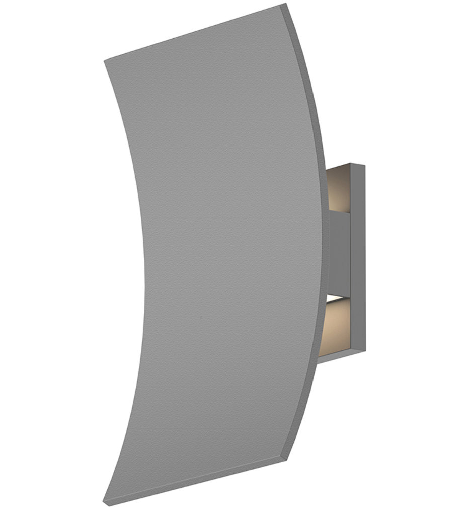 """Curved Shield 11"""" Wall Sconce"""