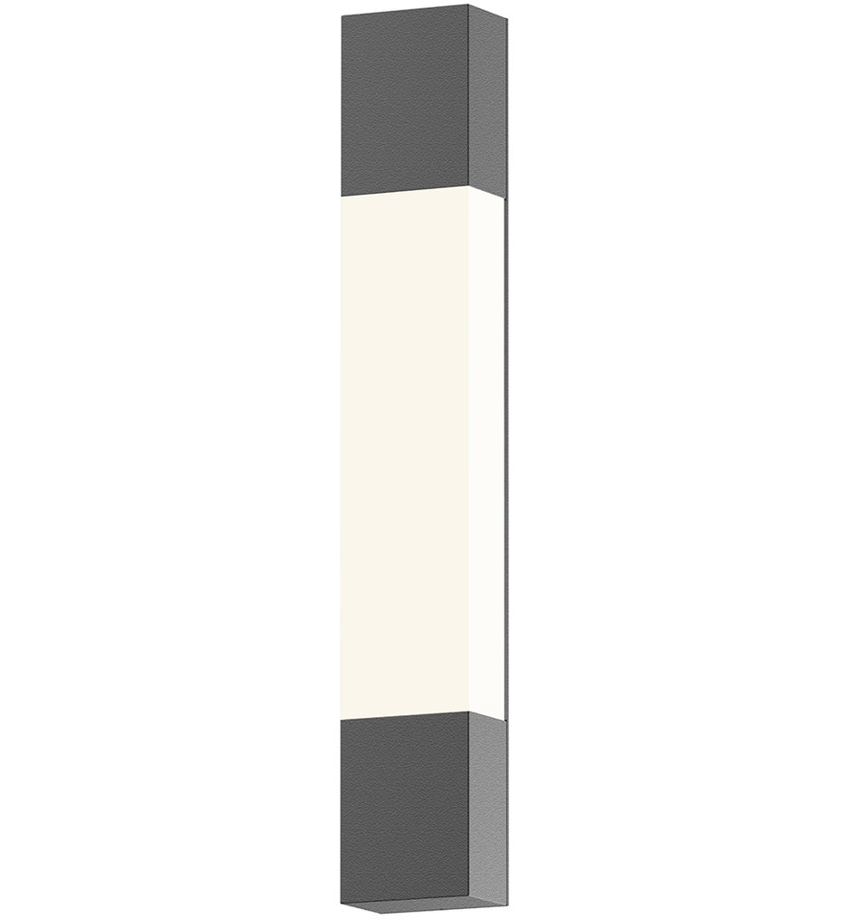 "Box Column 22"" Wall Sconce"