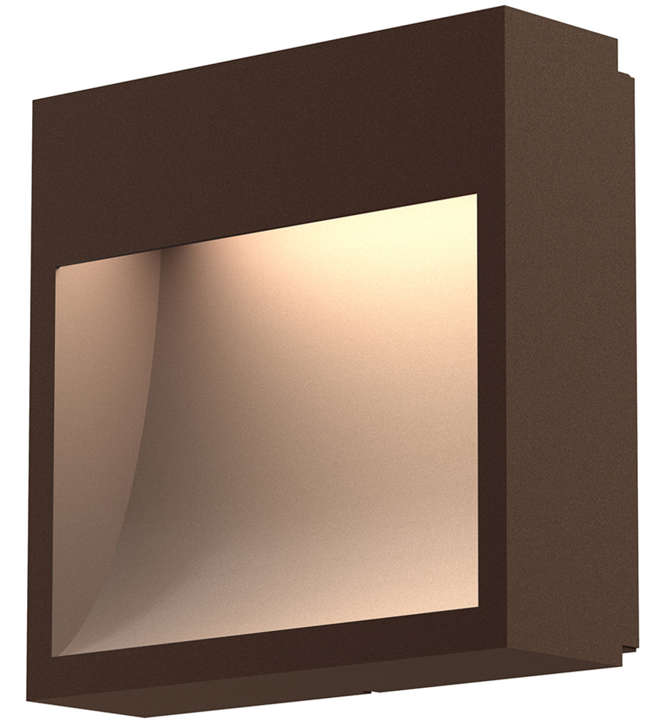 """Square Curve 7"""" Wall Sconce"""