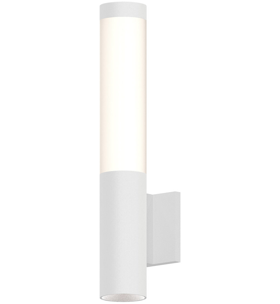 """Round Column 19"""" Wall Sconce"""
