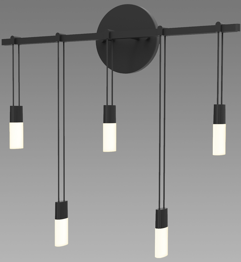 """Suspenders 15.25"""" Wall Sconce"""