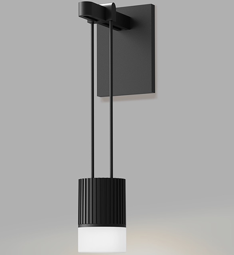 """Suspenders 9"""" Wall Sconce"""