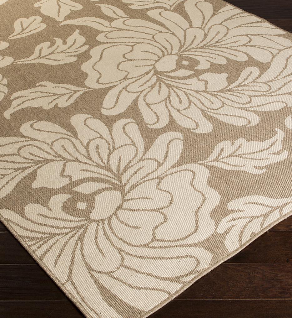 Alfresco Floral Geometric Rug