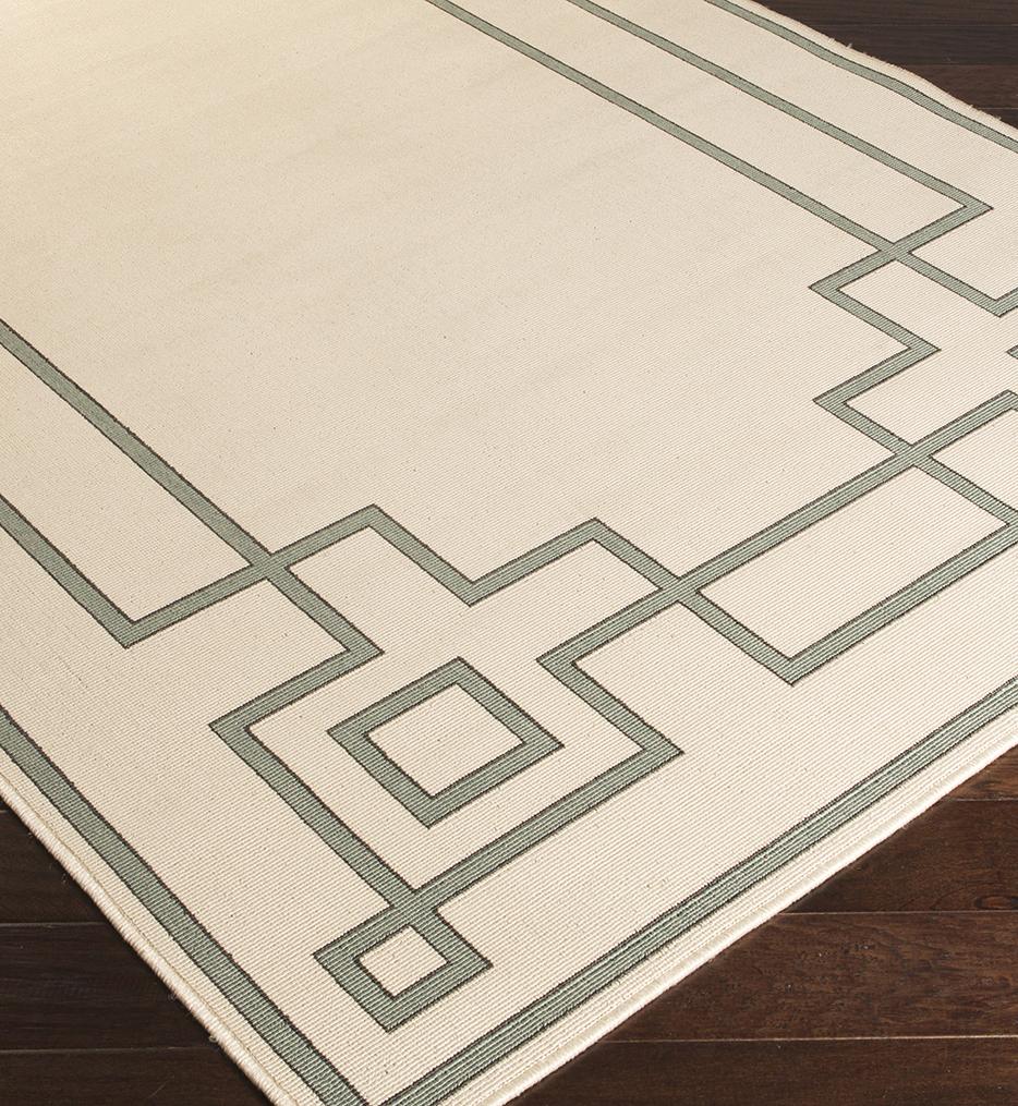 Alfresco Geometric Rug