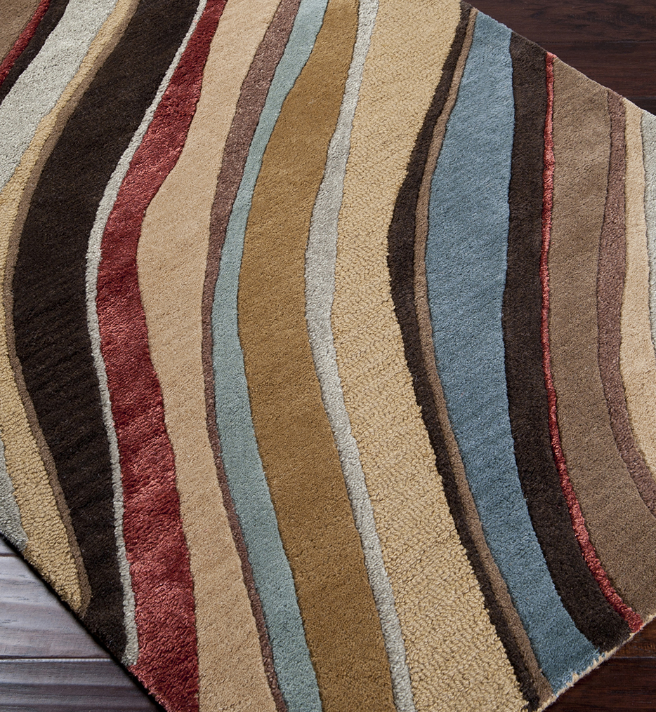 Artist Studio Layers Transitional Hand Tufted Rug