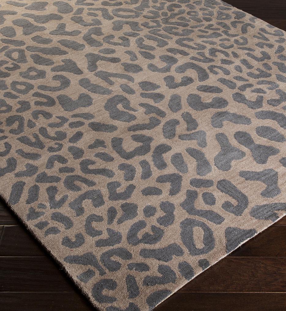 Athena Animal Print Hand Tufted Rug