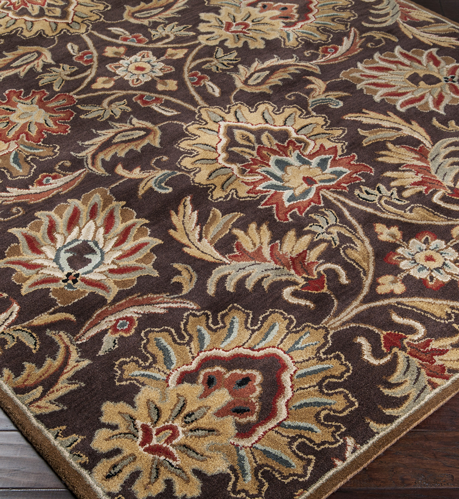 Caesar Traditional Paisley Hand Tufted Rug