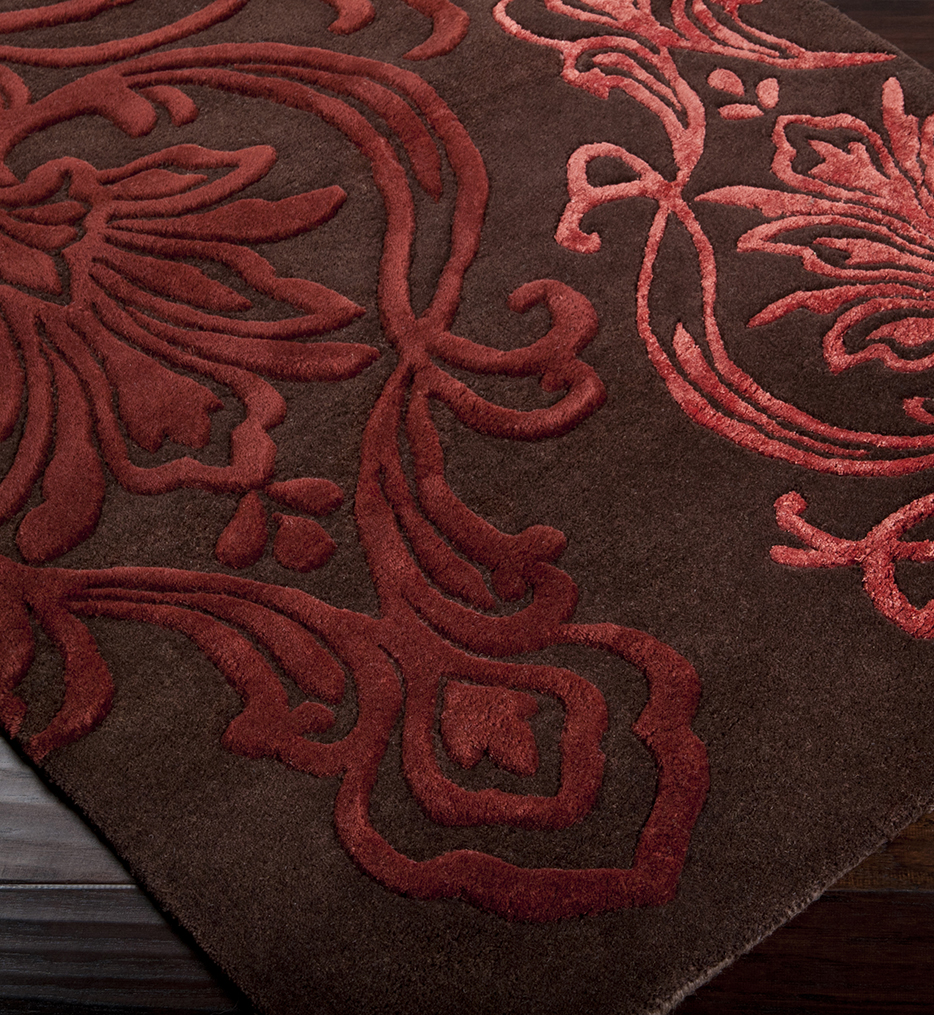 Modern Classics Large Floral Traditional Hand Tufted Rug
