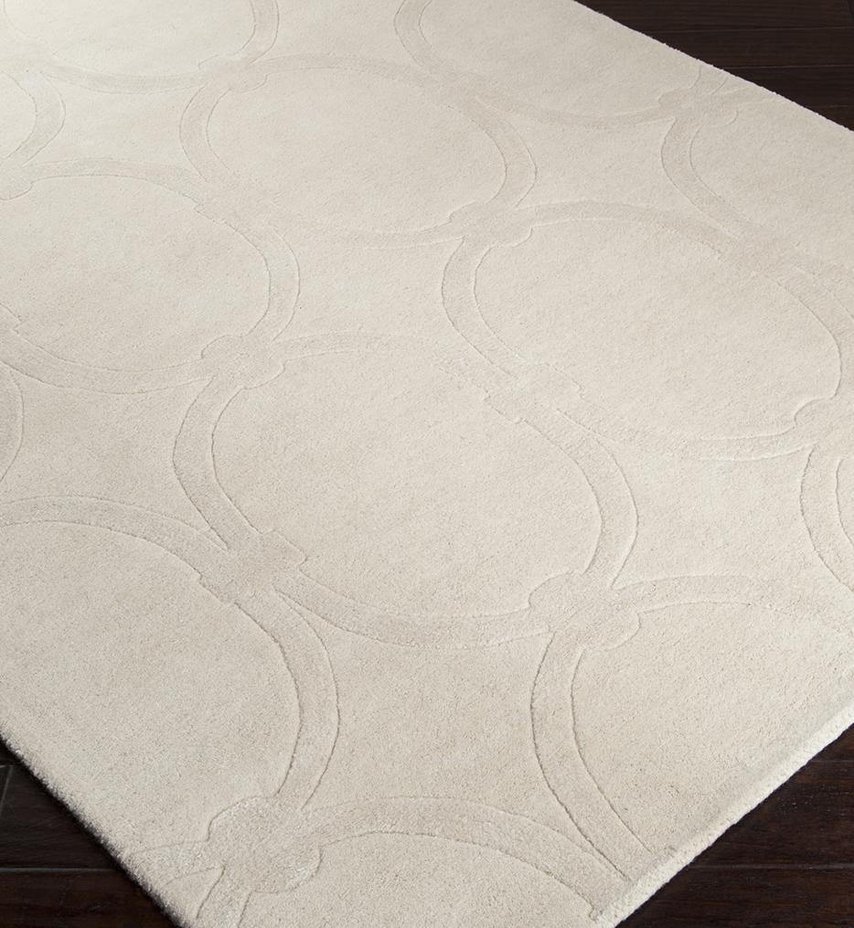 Modern Classics Ovals Geometric Hand Tufted Rug
