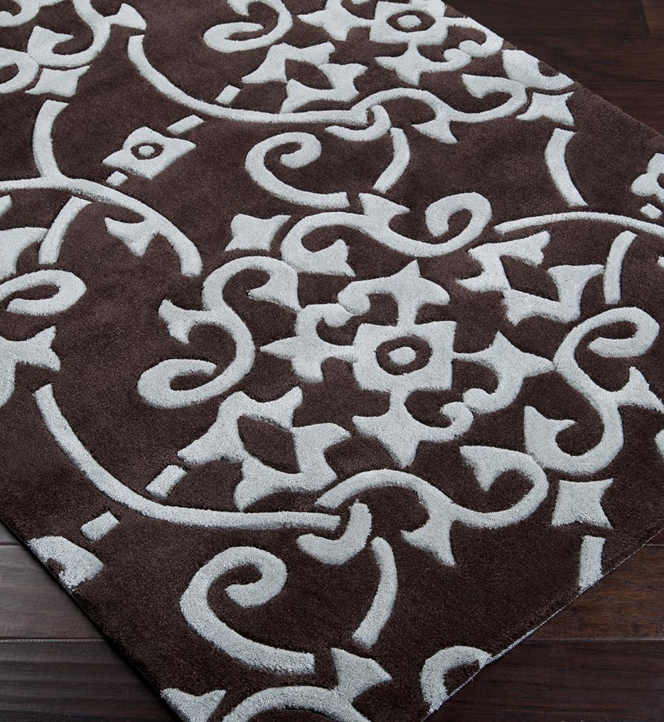 Cosmopolitan Paisley & Damask Hand Tufted Rug