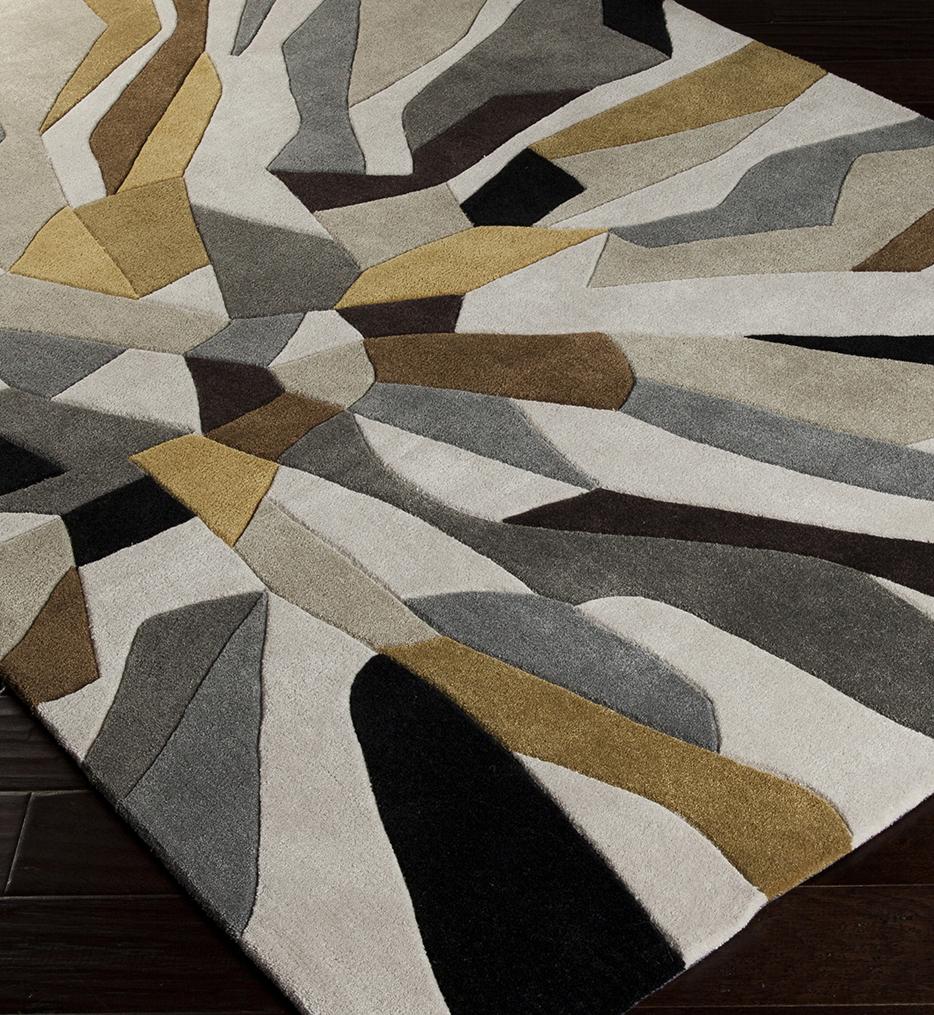 Cosmopolitan Geometric Hand Tufted Rug