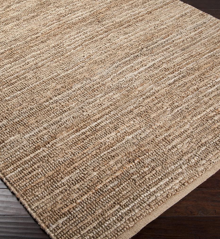 Continental Natural Fiber Textures Hand Woven Rug