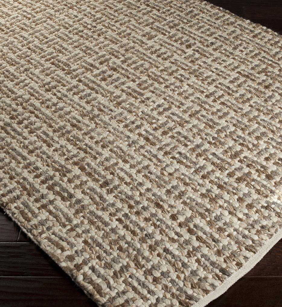Cascade Natural Fiber Textures Hand Woven Rug