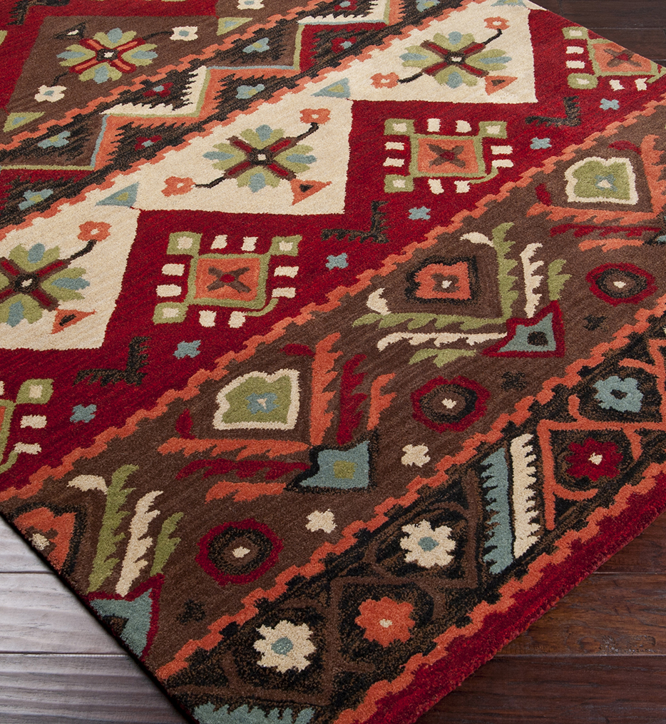 Dream Transitional Southwest Hand Tufted Rug