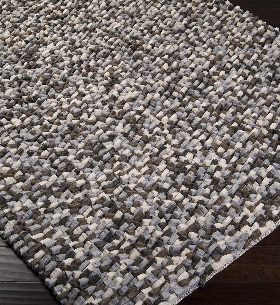 Flagstone Natural Fiber Textures Hand Woven Rug