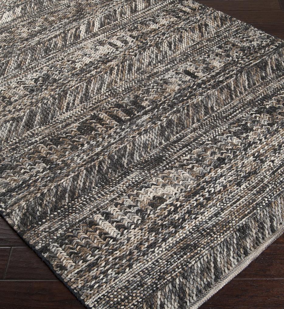 Norway Natural Fiber Textures Hand Woven Rug