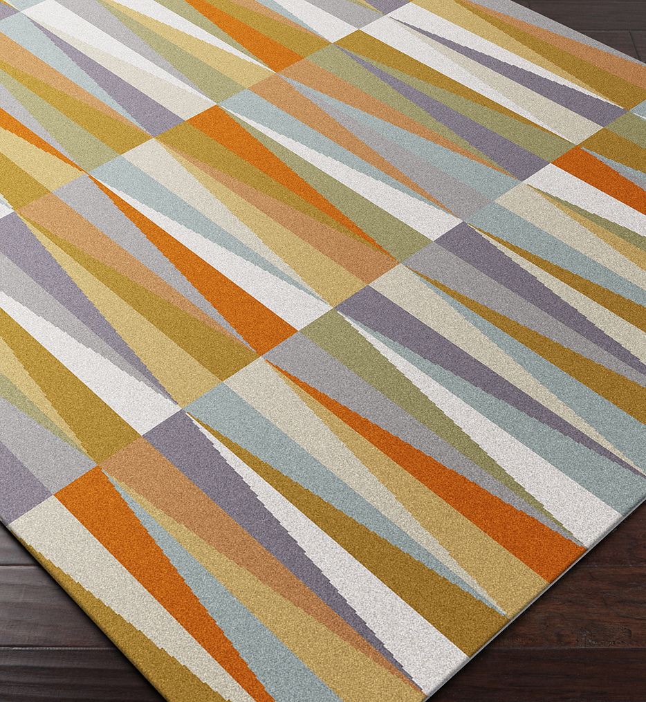 Oasis Contemporary Hand Tufted Rug