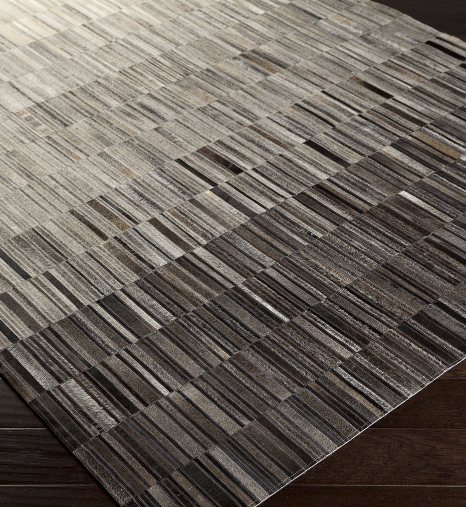 Outback Hides & Leather Hand Woven Rug