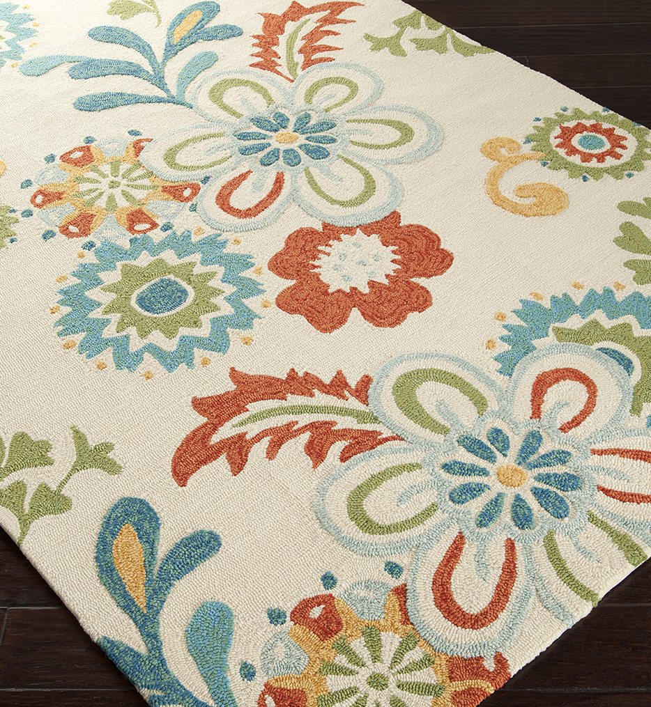 Storm Contemporary Hand Hooked Rug