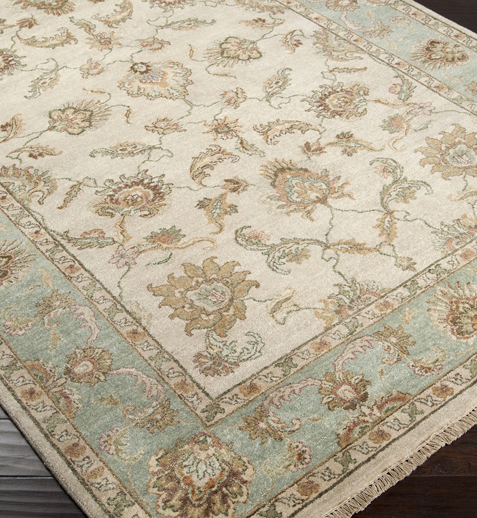 Timeless Traditional Hand Knotted Rug