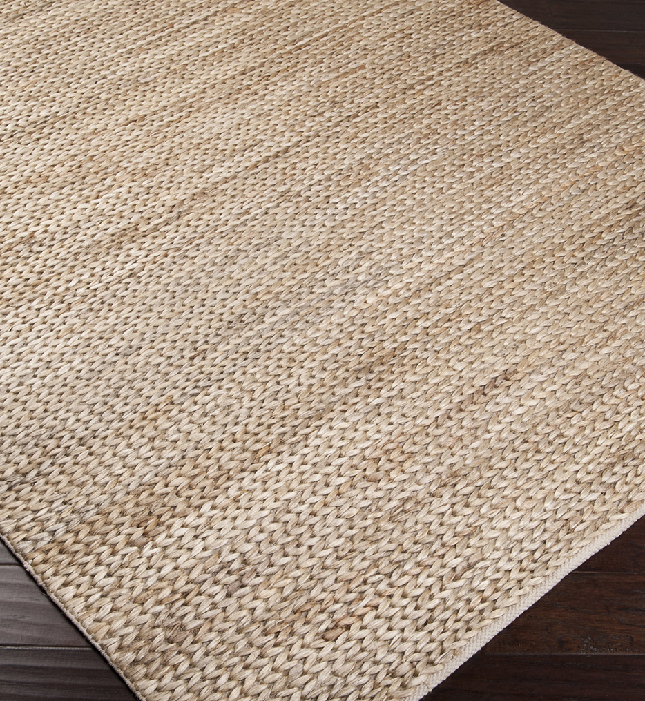 Tropics Natural Fiber Textures Hand Woven Rug