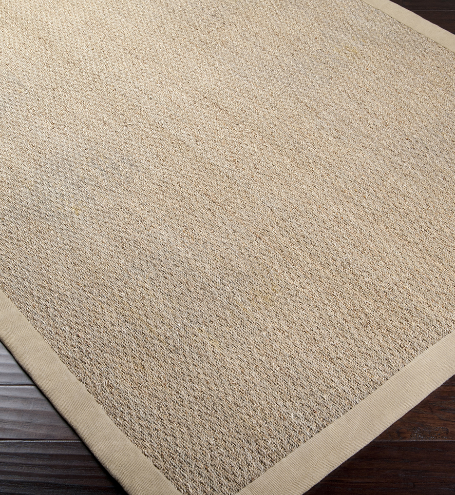 Village Natural Fiber Textures Hand Woven Rug