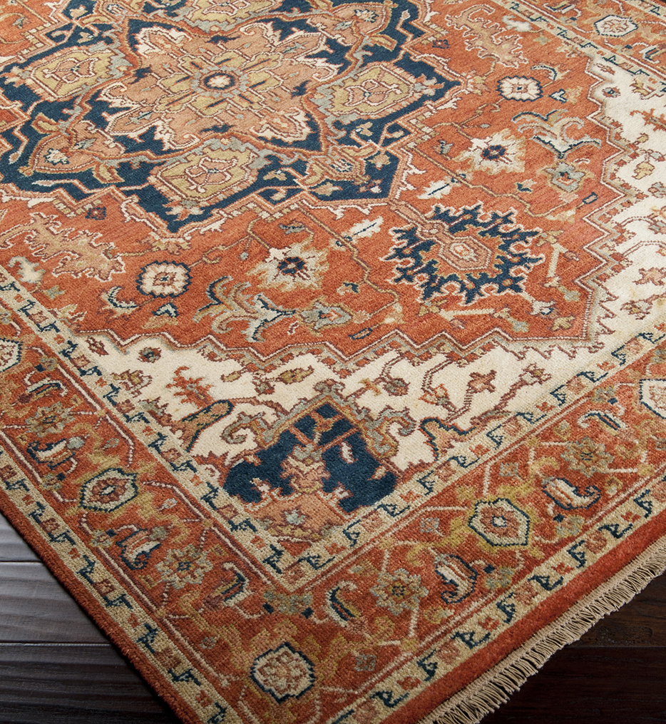 Zeus Traditional Hand Knotted Rug