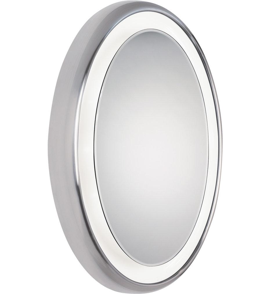 """Tigris Oval 23.5"""" Bathroom Mirror"""