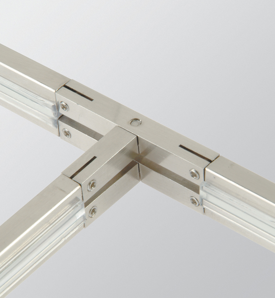 """Monorail 1.8"""" T -Connector"""