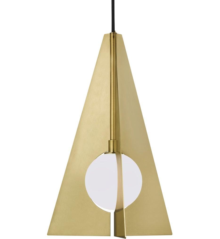 "Orbel Pyramid 11.6"" Pendant"