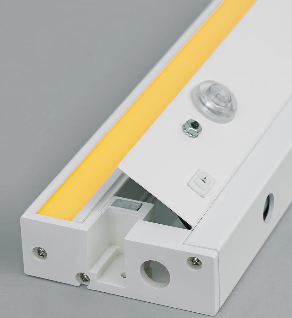 "Unilume 19"" LED Under Cabinet Light Bar with Occupancy Sensor"