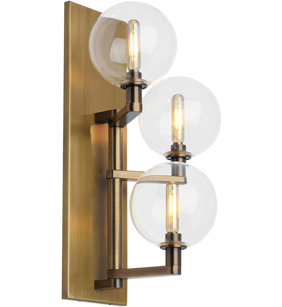 """Gambit 17.5"""" Wall Sconce"""