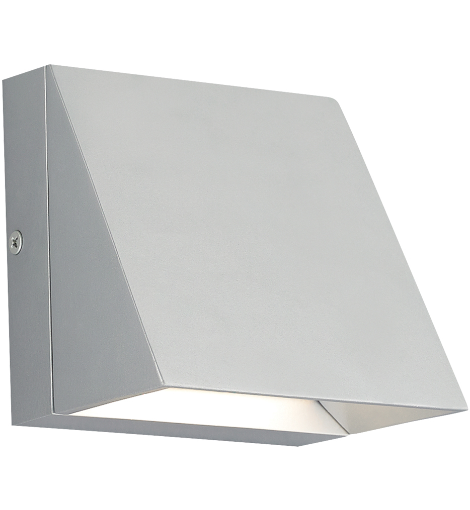 """Pitch Single 5"""" Outdoor Wall Sconce"""