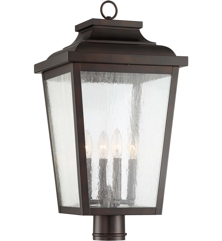 Irvington Manor 4 Light Outdoor Post Mount
