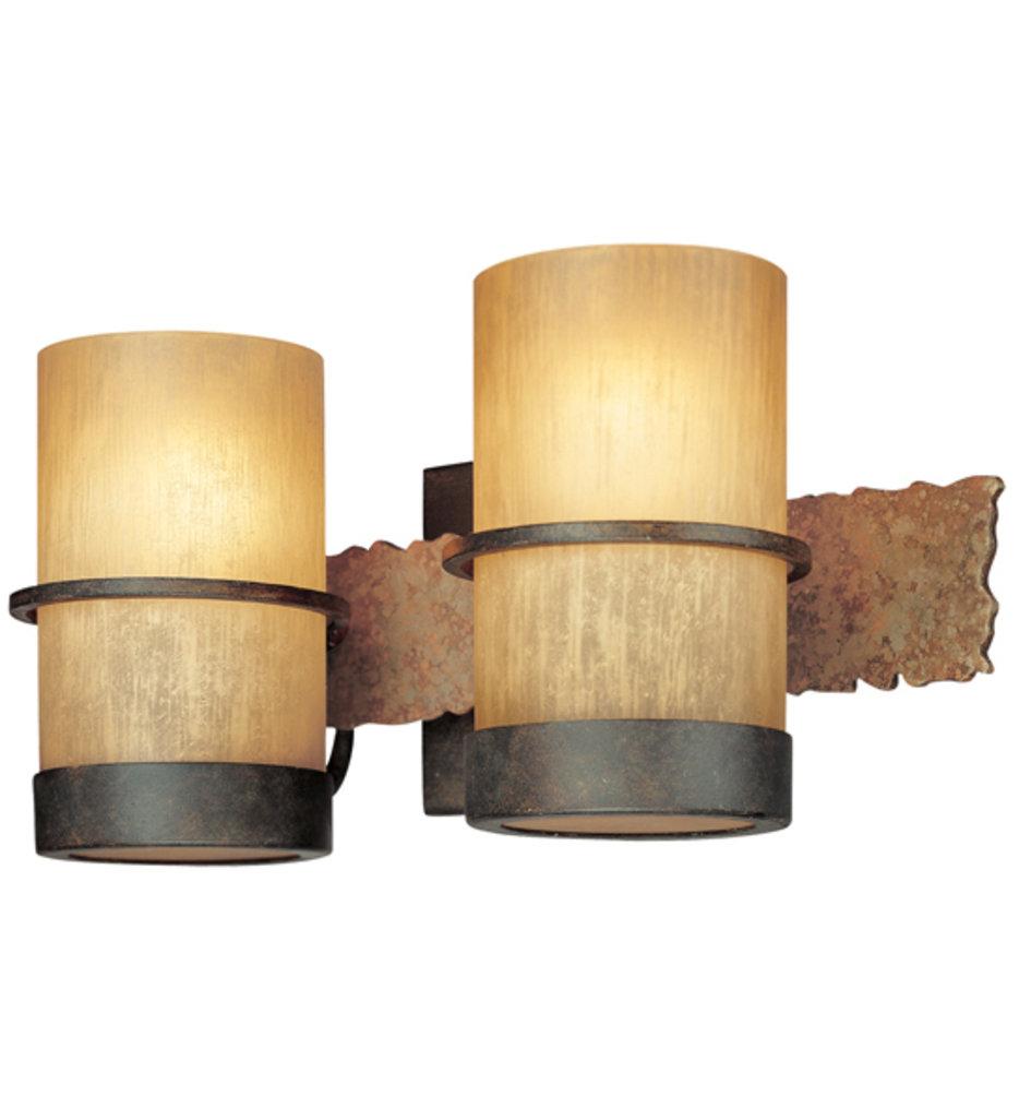 "Bamboo 14.5"" Bath Vanity Light"