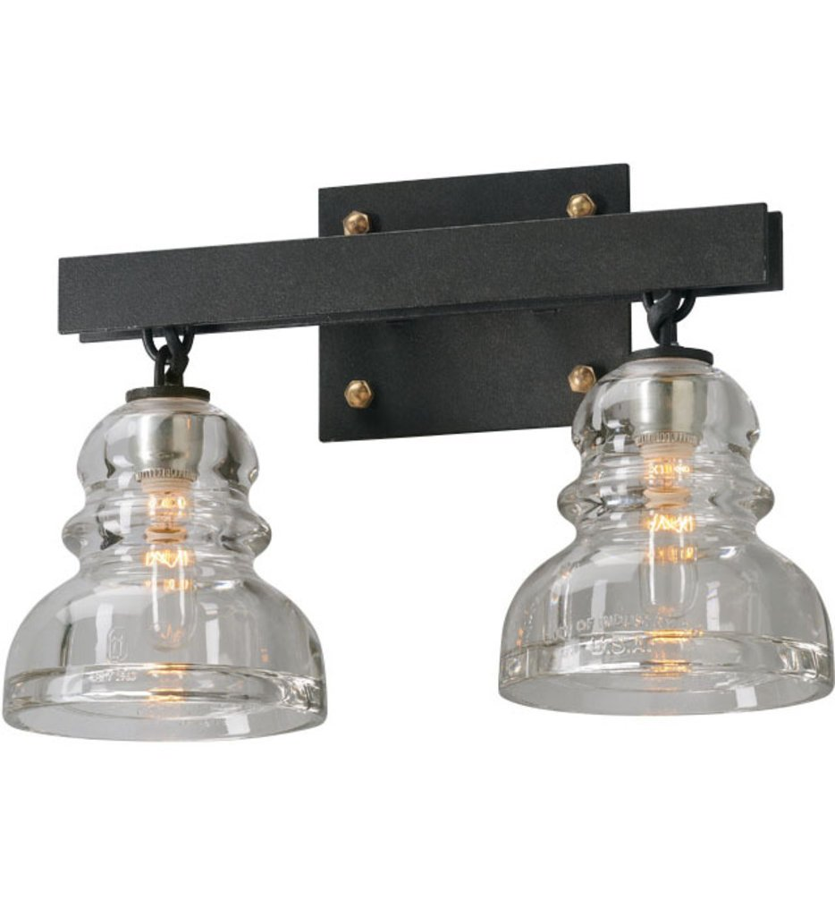 "Menlo Park 15.25"" Bath Vanity Light"