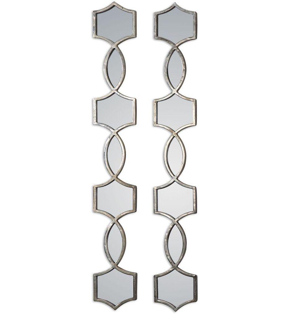 Vizela Metal Mirrors (Set of 2)