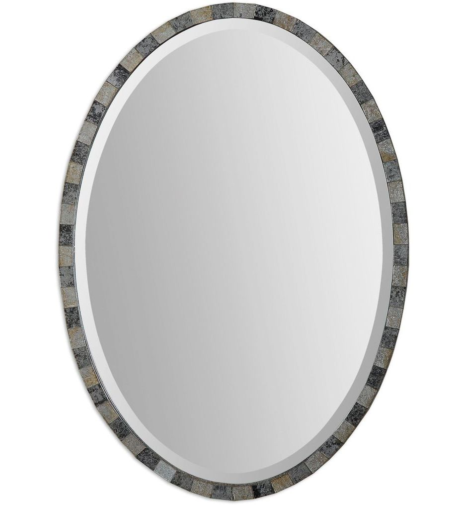 Paredes Oval Mosaic Mirror